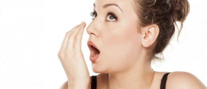 Запах изо рта при болезни желудка